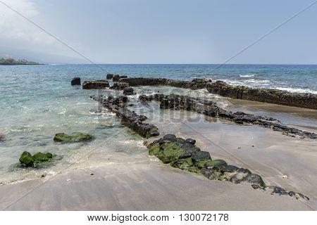 Old Warf At Ho'okena Beach Park