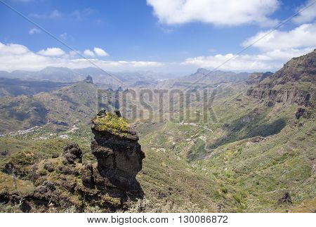 Gran Canaria, Caldera De Tejeda In May