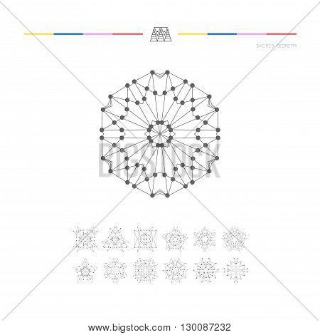 Sacred Geometry Set Vector Photo Free Trial