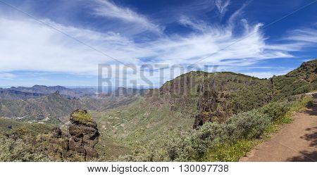 Gran Canaria, Caldera De Tejeda In April