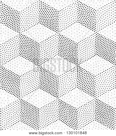 Vector Geometric Seamless Pattern. Repeating Abstract Triangles
