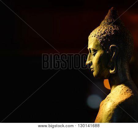 Indian statue. Buddha