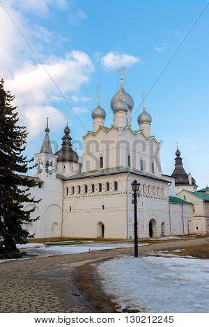 Church of the Resurrection in the Kremlin in Rostov Velikiy, Russia