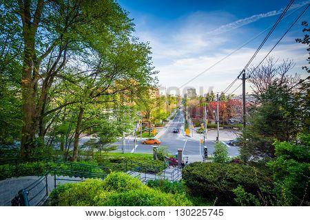 The Baldwin Steps At Spadina Park, In Midtown Toronto, Ontario.
