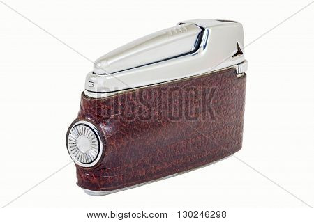Lighter skin bound isolated on white background closeup clipping path