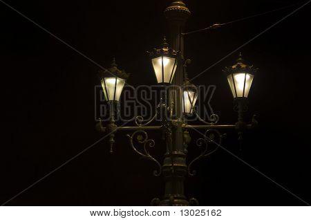 udendørs lampe, Budapest