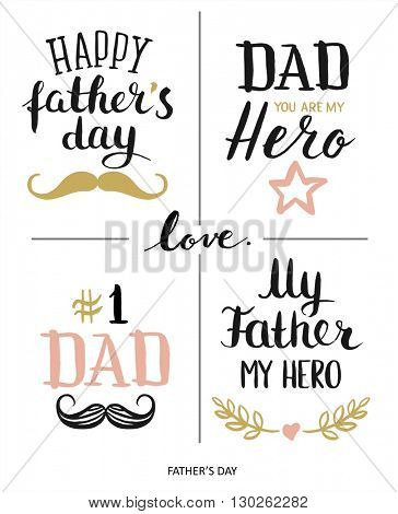Fathers day design. Happy Fathers Day Typographical Background. Happy Fathers day. Fathers day card. Fathers day art.