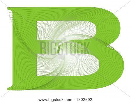 B Design Letter