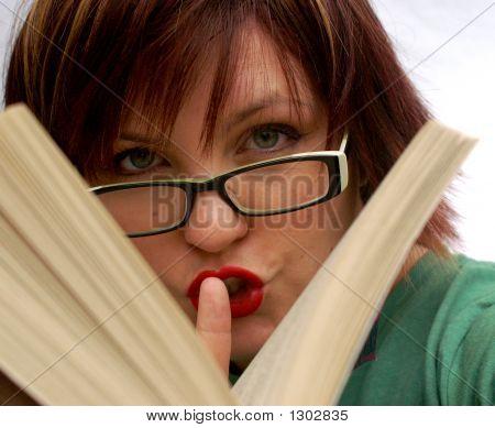 Ssshhh Girl Reading
