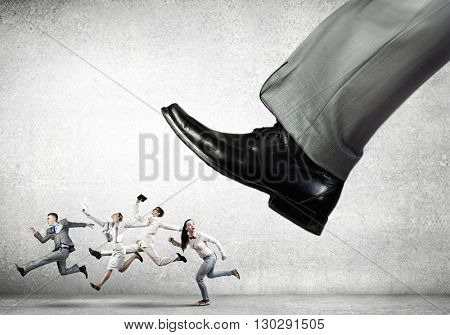 Under boss pressure