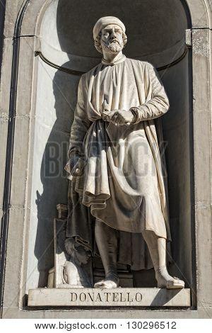 Florence Uffizi Statue Donatello