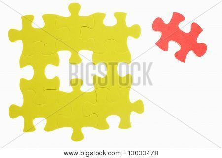 The Last Piece Of Jigzaw Puzzle