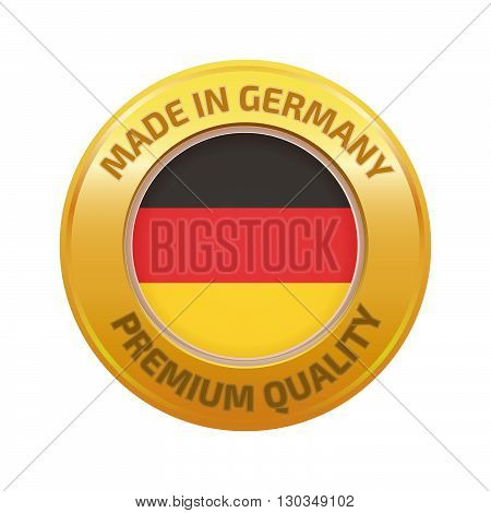 Made In Germany Badge