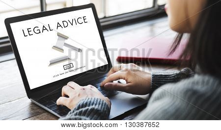 Lawyer Legal Advice Law Compliance Concept