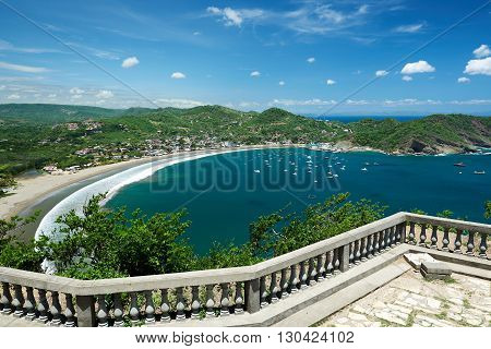 Colorfull View Of Bay
