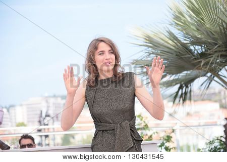 Adele Haenel attends 'The Unknown Girl (La Fille Inconnue)' Photocall during the 69th annual Cannes Film Festival at the Palais des Festivals on May 18, 2016 in Cannes, France.