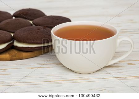 Whoopie pies and a cup of tea