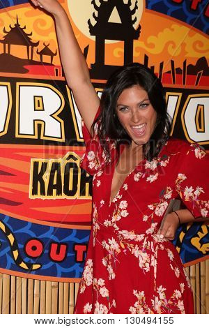 LOS ANGELES - MAY 18:  Michele Fitzgerald at the Survivor: Kaoh Rong Finale at the CBS Radford on May 18, 2016 in Studio City, CA