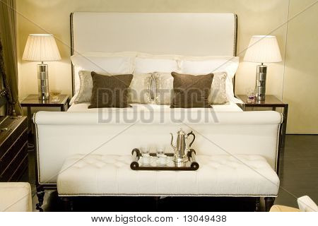 big double bed