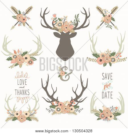 Flower Antlers Collections