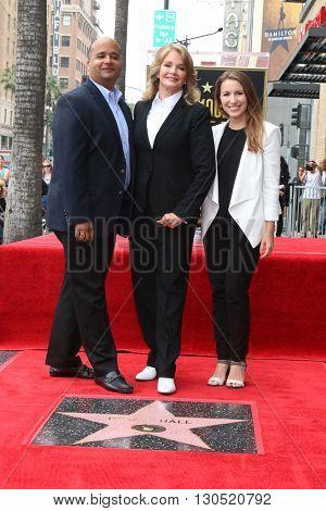 LOS ANGELES - MAY 19:  Deidre Hall, executives at the Deidre Hall Hollywood Walk of Fame Ceremony at Hollywood Blvd. on May 19, 2016 in Los Angeles, CA