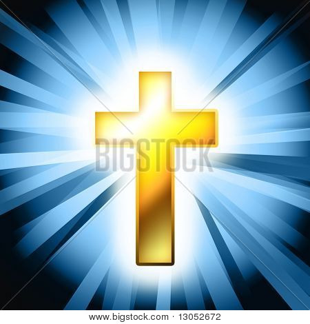 Catholic Cross Background