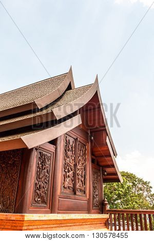 Wat Somdej Phu Ruea Ming Muang - The New Temple In Thailand