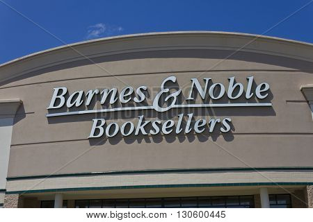 Indianapolis - Circa May 2016: Barnes & Noble Retail Location. Barnes & Noble is a leading retailer of content, digital media and educational products in the country III