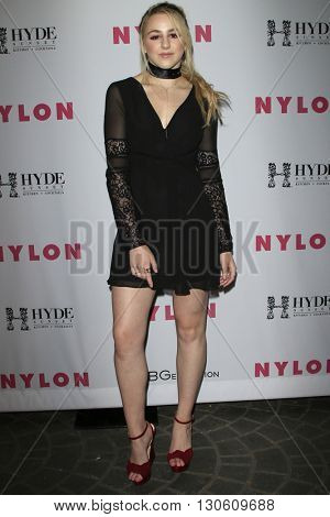 LOS ANGELES - MAY 12:  Chloe Lukasiak at the NYLON Young Hollywood May Issue Event at HYDE Sunset on May 12, 2016 in Los Angeles, CA