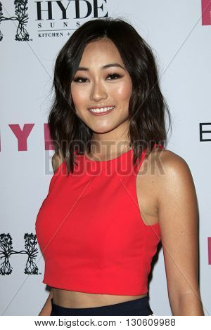 LOS ANGELES - MAY 12:  Karen Fukuhara at the NYLON Young Hollywood May Issue Event at HYDE Sunset on May 12, 2016 in Los Angeles, CA