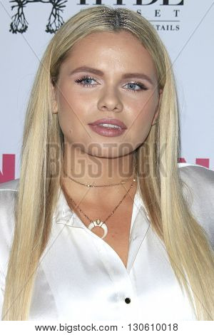 LOS ANGELES - MAY 12:  Alli Simpson at the NYLON Young Hollywood May Issue Event at HYDE Sunset on May 12, 2016 in Los Angeles, CA