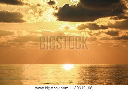 sunset and sunrise time, nature background and empty area for text, feeling love or romantic background in nature, beautiful sunset and sunrise time, sunset and sunrise view at the sea.