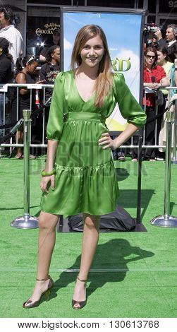 Alyson Stoner at the Los Angeles premiere of 'Shrek 3' held at the Mann Village Theater in Westwood, USA on May 6, 2007.