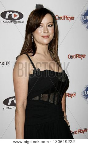 Jennifer Tilly at the 2nd Annual Celebrity Poker Tournament to Benefit The Urban Health Institute held at the Playboy Mansion in Holmby Hills, USA on April 28, 2007.