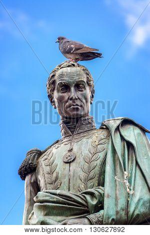 Simon Bolivar Stature