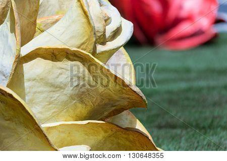The Rose Of Paper Mache