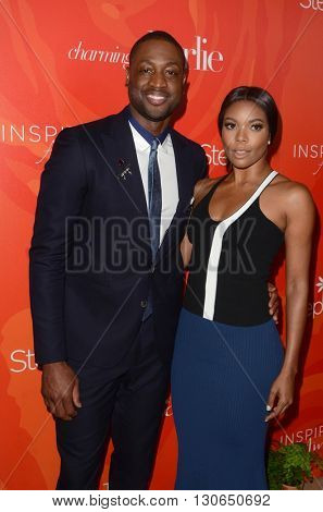 LOS ANGELES - MAY 20:  Dwyane Wade, Gabrielle Union at the Step Up Inspiration Awards at Beverly Hilton Hotel on May 20, 2016 in Beverly Hills, CA