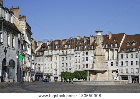 Besancon, France, May 15, 2016 : Besancon Has Been Labeled A