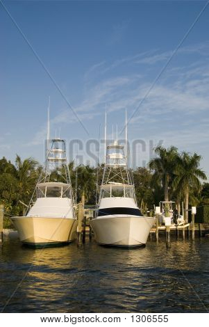 Twin Fishing Boats