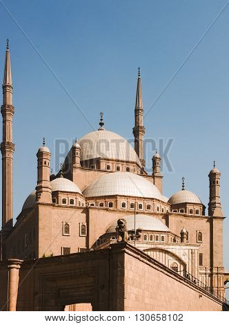 The Mosque Of Muhammad Ali In Cairo, Egypt, Islam, Religion