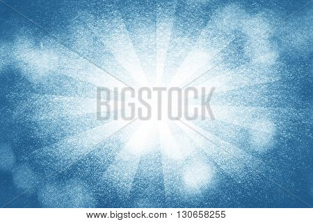 art grunge blue rays abstract pattern illustration background