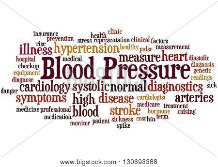 Blood Pressure, Word Cloud Concept 8