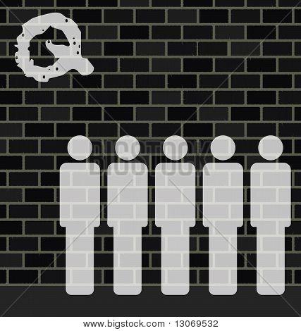 Wall queue