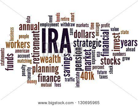 Ira, Word Cloud Concept 5