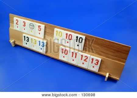A Rummy Table