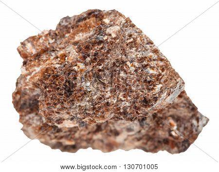 Specimen Of Phlogopite (magnesium Mica) Isolated