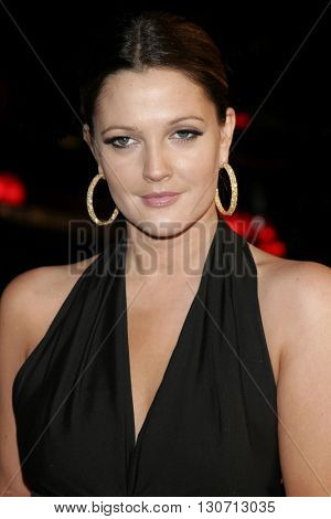 Brew Barrymore at the Los Angeles premiere of 'Music and Lyrics' held at the Grauman's Chinese Theater in Hollywood, USA on February 7, 2006.