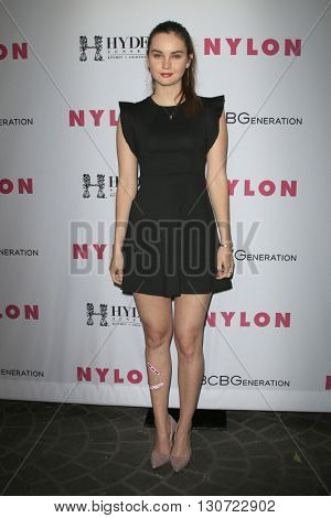 LOS ANGELES - MAY 12:  Liana Liberato at the NYLON Young Hollywood May Issue Event at HYDE Sunset on May 12, 2016 in Los Angeles, CA
