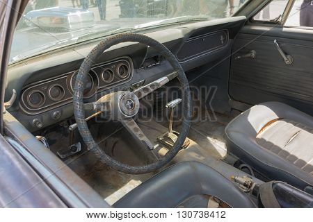 Post-apocalyptic Survival Interior Vehicle