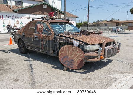 Post-apocalyptic Survival Vehicle